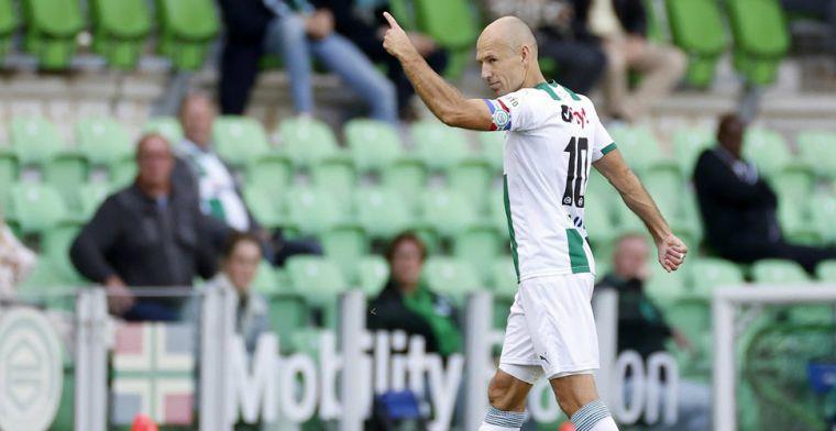Buijs schakelt snel na blessure Robben: 'Dacht: f*ck, hebben niemand warmlopen'