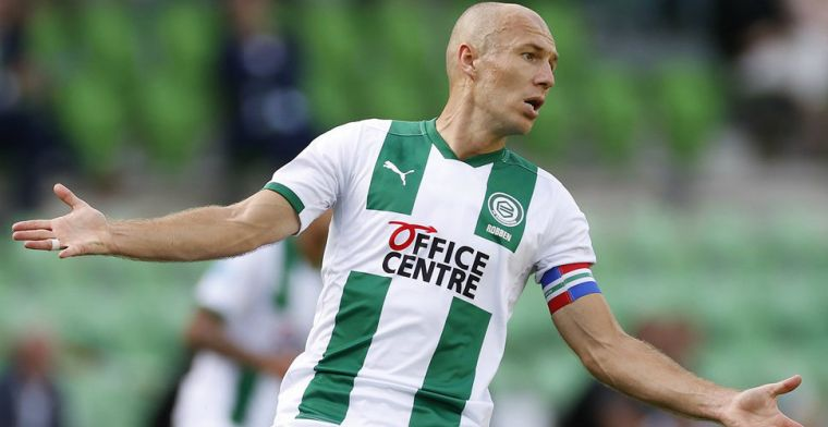 Drenthe vertrouwt op Robben: 'Arjen, Arjen... Ik zie hem al bezig, in die gang'