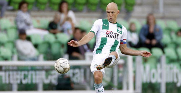'Drama' voor geblesseerde Robben tegen PSV: 'Maar hij komt zeker terug'