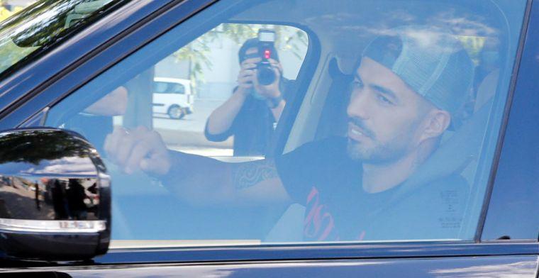 RAC1: Suárez heeft paspoort niet op tijd binnen, Juve-transfer ketst af