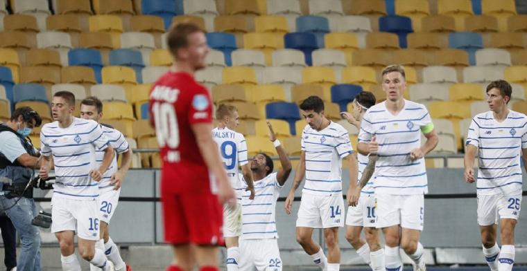 Dinamo Kiev wint van AZ en is mogelijke tegenstander van KAA Gent