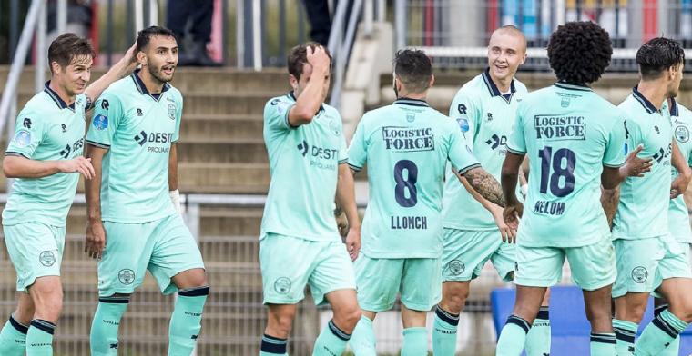 Willem ll maakt indruk in Luxemburg en zet volgende stap richting Europa League