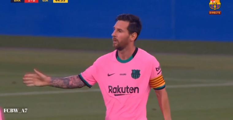 Must see: teruggekeerde Messi maakt prachtige goal met chocoladebeen