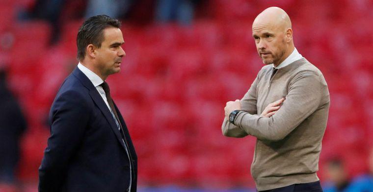 Overmars geeft inkijkje in Ajax-transfer: 'Daardoor andere clubs te slim af'