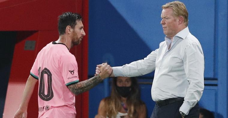 Messi bezorgt FC Barcelona tweede overwinning in Koeman-tijdperk