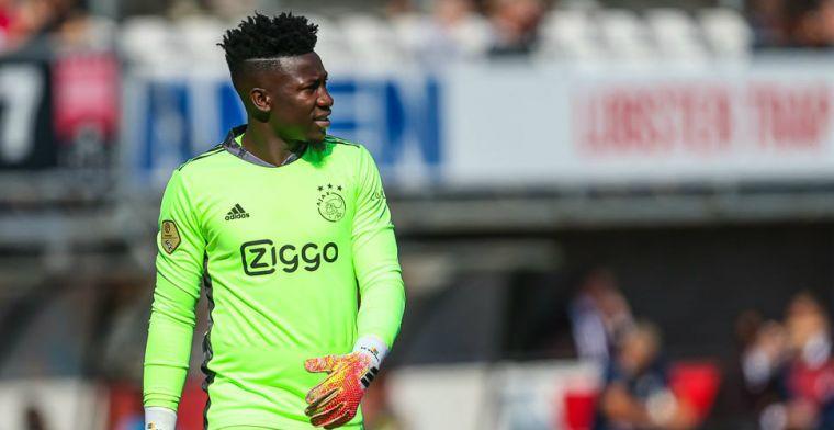 Kamphuis onder vuur na tijdrekken Ajax-keeper Onana: 'In de maling genomen'