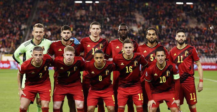 Rode Duivels blijven de primus, Frankrijk en Brazilië moeten achtervolgen