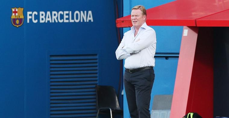 'Koeman mag nog niet op de bank plaatsnemen tijdens officiële duels van Barça'