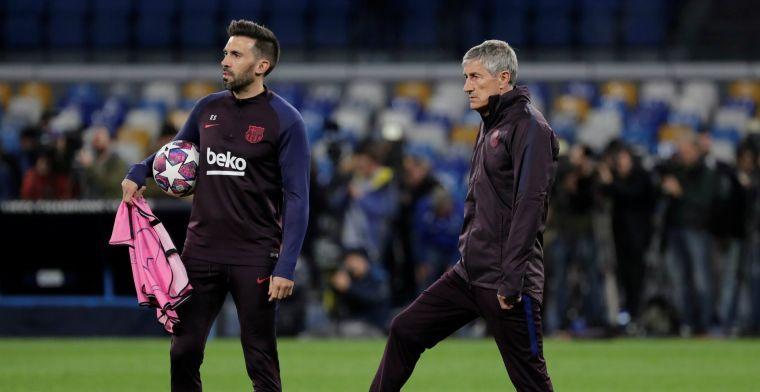 Setién komt met statement en spant een zaak aan tegen FC Barcelona