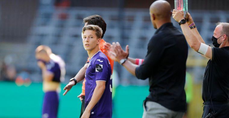 'Verschaeren mag hopen op basisplek bij RSC Anderlecht'