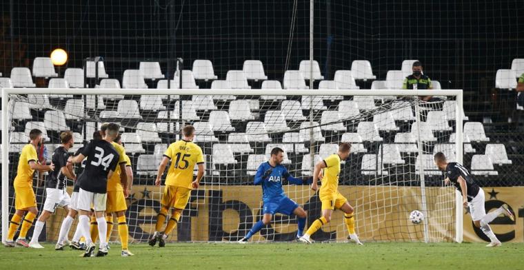 Tottenham Hotspur ontsnapt in slotfase aan ongekende blamage in Europa League