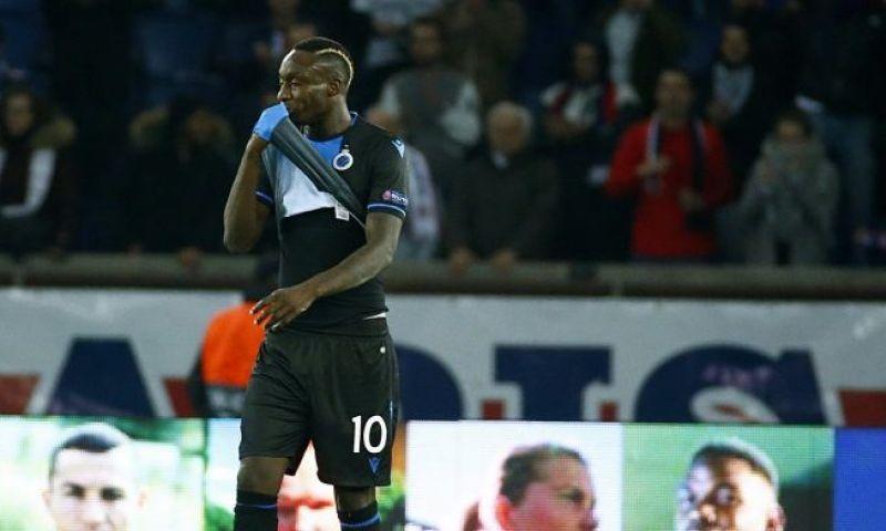 Afbeelding: Oude bekende: Diagne (ex-Club Brugge) is plots held in Europa League