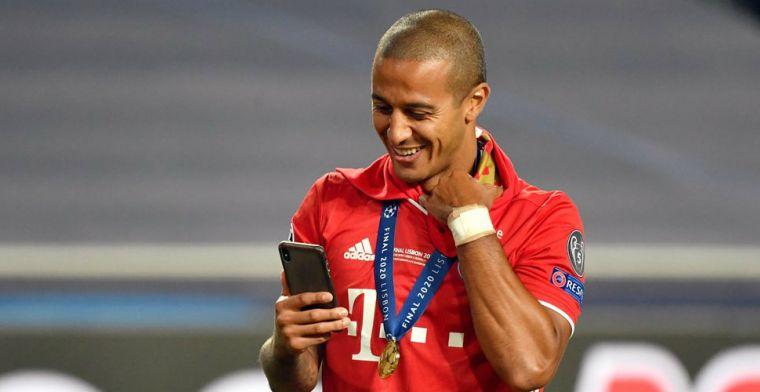 'Thiago gearriveerd in Engeland: transfer Bayern-middenvelder kwestie van tijd'