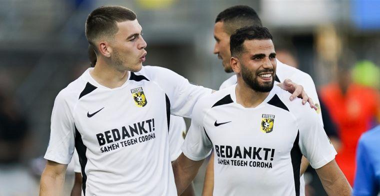 Nog een tegenslag voor Vitesse: ook verdediger test positief op coronavirus