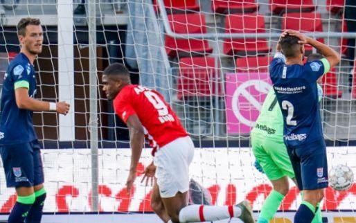Afbeelding: Spektakel in Alkmaar: tiental AZ morst meteen punten tegen PEC Zwolle