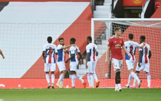 LIVE: weinig imponerend Manchester United met 0-1 achterstand de rust in