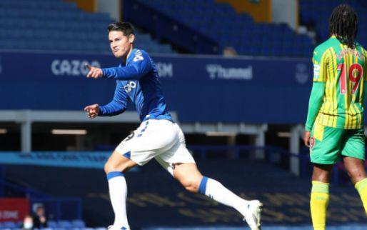 Afbeelding: Everton haalt uit tegen West Brom: 5-2 met uitblinkers James en Calvert-Lewin