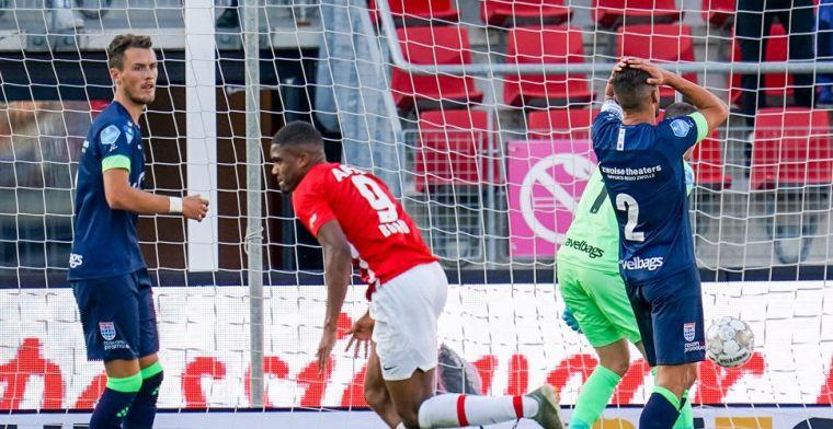 Spektakel in Alkmaar: tiental AZ morst meteen punten tegen PEC Zwolle
