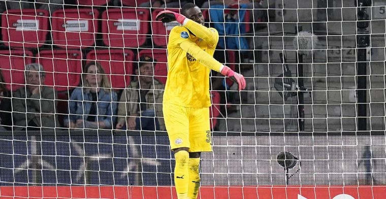 Reactie van PSV-schlemiel Mvogo: Ik beloof dat ik beter ga spelen