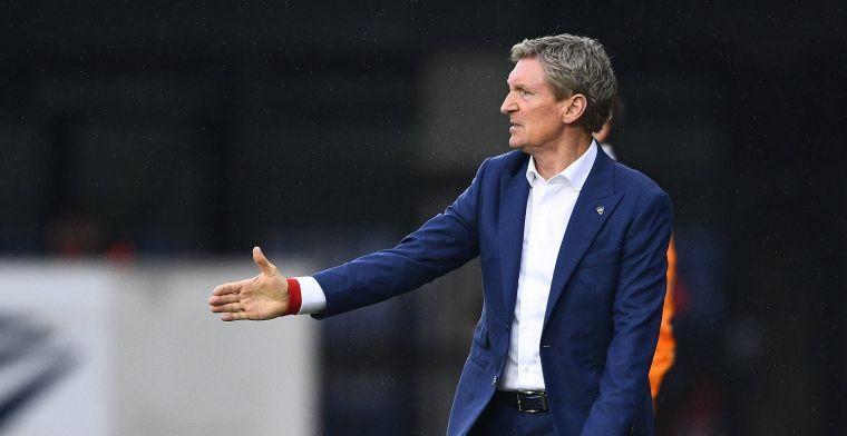 """Zulte Waregem-coach Dury kijkt naar Club Brugge: """"Zij nemen initiatief"""""""