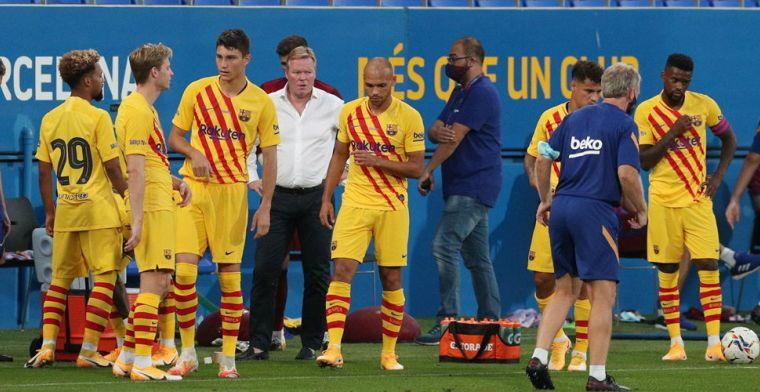 Barcelona maakt opstelling bekend: twee wijzigingen, De Jong behoudt zijn plek