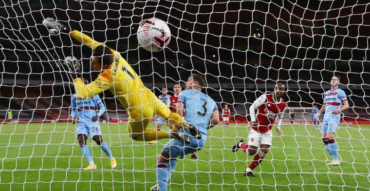 Arsenal wint tweede Londense derby en kan met vertrouwen naar Liverpool