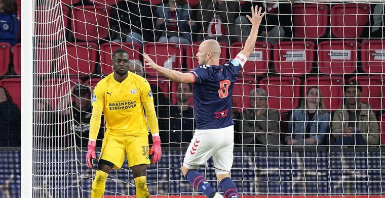 Ketser Mvogo blijft zonder gevolgen: Romero bezorgt PSV in minuut 94 alsnog zege