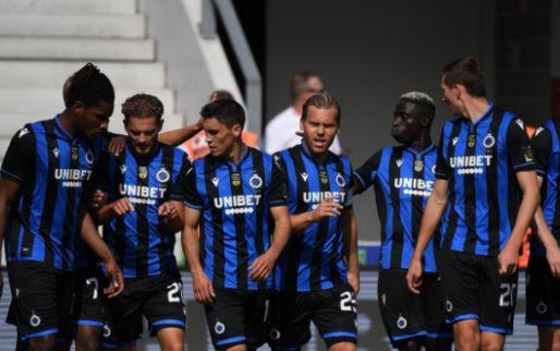 LIVE: Club Brugge maakt Zulte-Waregem al voor de rust met de grond gelijk