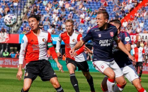 LIVE: Feyenoord mist kans op kans in slotminuut en speelt gelijk (gesloten)