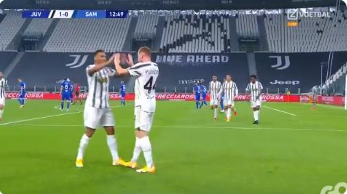 Zéér bekeken: wonderkind Kulusevski scoort fraai bij Juventus-debuut