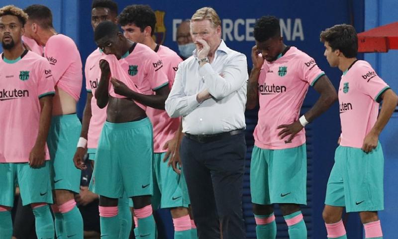 Afbeelding: 'Nederlandse clubs laten oog vallen op FC Barcelona-talent van Koeman'