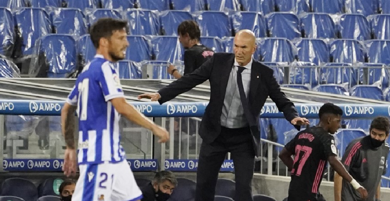 Real Madrid stelt teleur en glijdt in eerste speelronde van La Liga meteen uit
