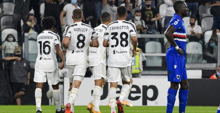 Debuterende Juventus-trainer Pirlo dankt Kulusevski, Bonucci en Ronaldo