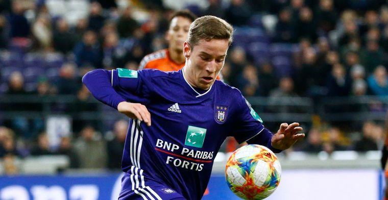 Pech voor Anderlecht: Verschaeren test positief op corona en moet in quarantaine