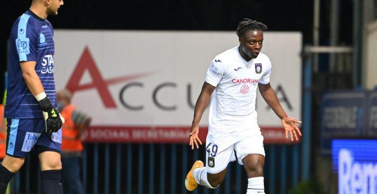 'Doku (Anderlecht) is een kandidaat om de Gouden Schoen te winnen'