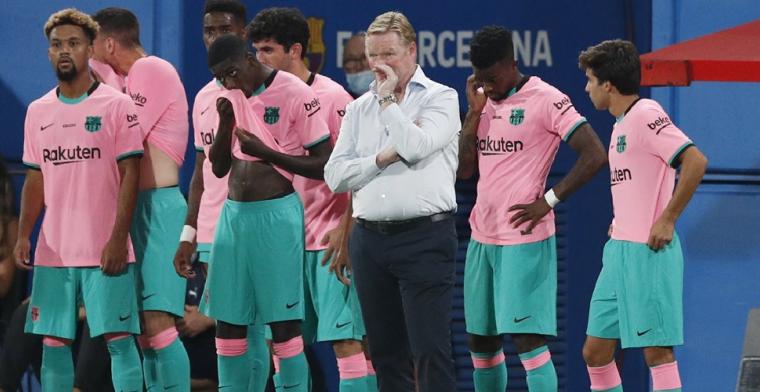 'Nederlandse clubs laten oog vallen op FC Barcelona-talent van Koeman'