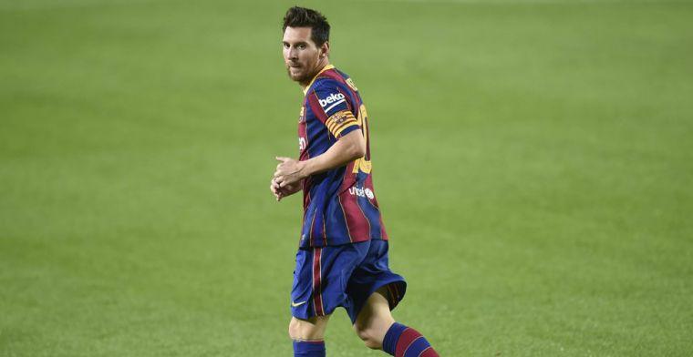 Vreugde in Barcelona: 'Mogen onszelf feliciteren dat Messi nog steeds bij ons is'