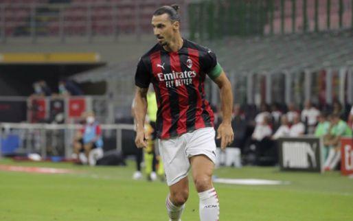 Afbeelding: Ibrahimovic schiet Milan eigenhandig langs Bologna, Dijks haalt einde duel niet