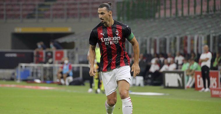 Ibrahimovic schiet Milan eigenhandig langs Bologna, Saelemaekers valt in