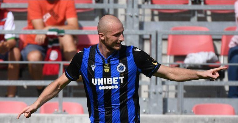 Krmencik staat weer op bij Club Brugge: 'Dat is zonder meer knap'