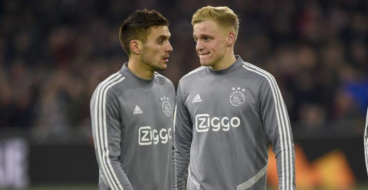 Tadic vol lof bij Ajax: Ik heb nog nooit een speler zich zo zien ontwikkelen