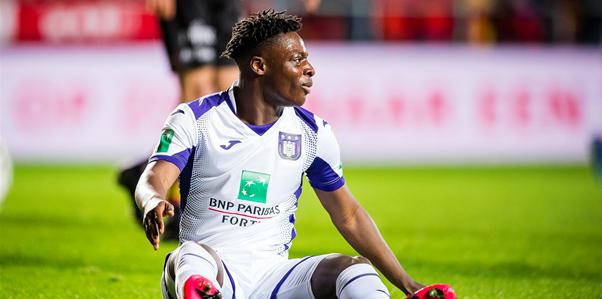 Doku blinkt uit bij Anderlecht: Ik moet voorzichtig zijn met wat ik zeg