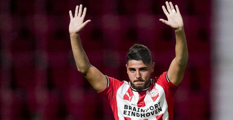 Schmidt: 'Toont grote wil, was een goed moment om zijn eerste PSV-goal te maken'