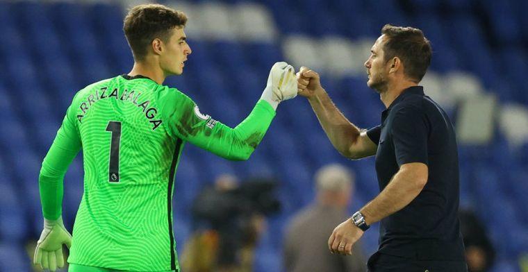 Lampard passeert doelman Kepa voor League Cup-duel en kondigt transfer aan