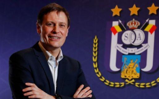 Van Eetvelt krijgt partner bij Anderlecht: 'Nieuwe operationeel directeur'