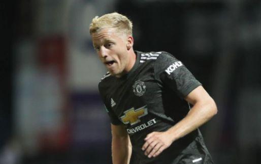 Afbeelding: Van de Beek wordt meteen uitgeroepen tot man of the match bij basisdebuut United