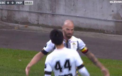 GOAL! Dessoleil schiet Charleroi op voorsprong tegen Partizan