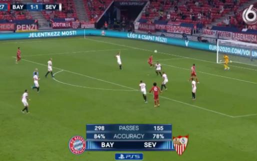Fenomenaal! Bayern zorgt via Lewandowski voor mooiste afgekeurde goal van het jaar