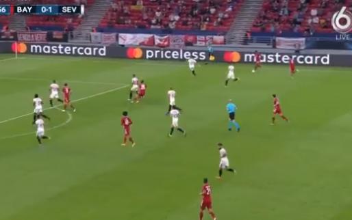 Magistrale teamgoal Bayern München: Müller, Lewandowski, Goretzka