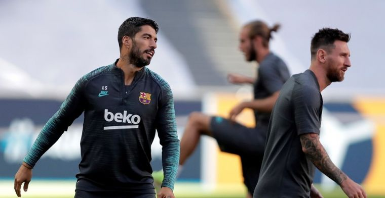 Barcelona biedt Suárez afscheidswedstrijd aan: Barça is voor altijd jouw thuis